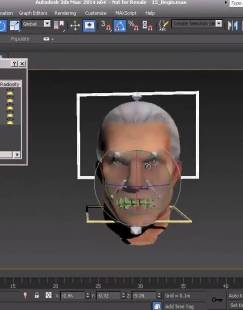 3ds Max游戏角色面部高级绑定视频教程下载 Facial Rigging for Games in 3ds Max