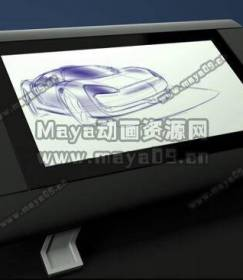 在 Autodesk Alias 里手绘一辆运动型汽车草图Sketching a Sports Car Using Autodesk