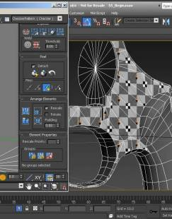 3ds MAX制作逼真次世代手枪模型视频教程 Creating Next-Gen Game Weapons in 3ds Max