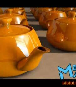 3ds MAX 2012入门教程视频!3dmax水壶材质渲染教程下载!Beginner's Guide to 3ds Max